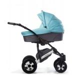 Бебешка количка Viola Синя