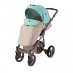 Детска количка Rimini Beige&Green Dots