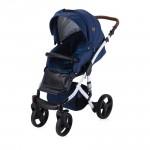 Детска количка Rimini Dark Blue Flowers