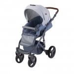Детска количка Rimini Grey Rhombs