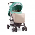 Детска количка Terra Green&Beige Moon Bear с покривало