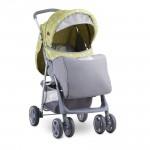 Lorelli Детска количка Terra Green&Grey Elephant с покривало