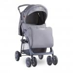 Детска количка Terra Grey Bear Party с покривало