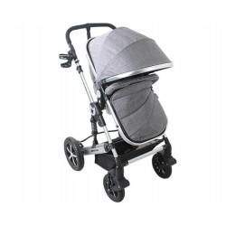 Бебешка количка Darling Dark Gray