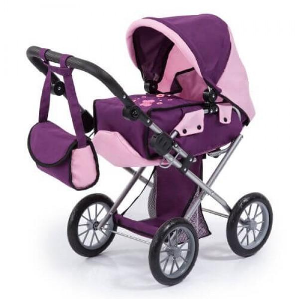 Bayer Детска количка за кукли с чанта и кош за новородено