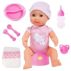 BAYER Пишкаща кукла с памперс Piccolina