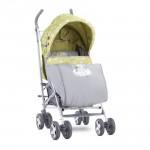 Детска количка Ida Green&Grey Elephant
