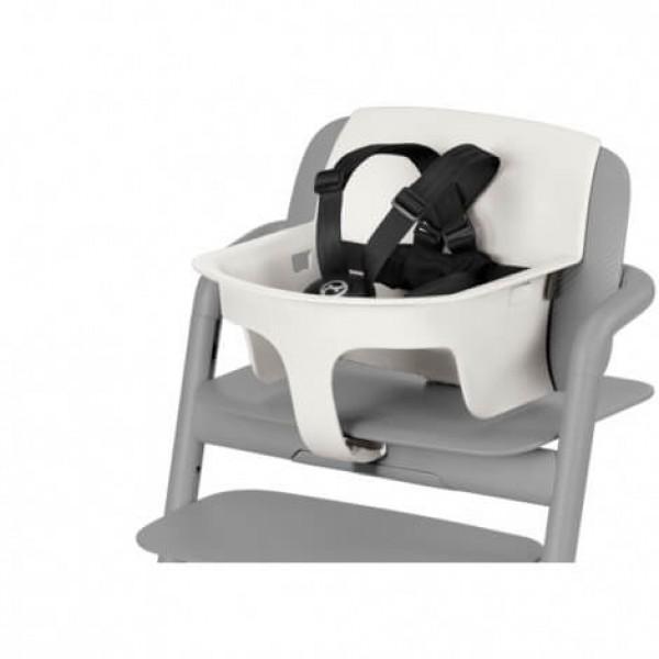 Бебешки комплект за детско столче за хранене Cybex LEMO Porcelane white