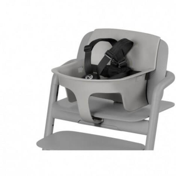 Бебешки комплект за детско столче за хранене Cybex LEMO Storm gray