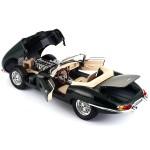Bburago Gold Кола Jaguar E Cabrio 1961