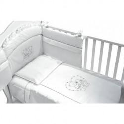 Спален комплект Baby Italia Incanto бял