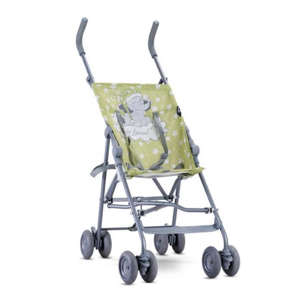 Бебешка количка Flash Green Elephant