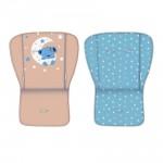 Бебешка количка Twin Blue&Beige Moon Bear