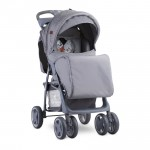 Детска количка Foxy Gray Cool Cat с покривало