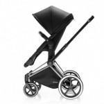 Бебешка лека седалка Cybex PRIAM 2 в 1 Happy Black