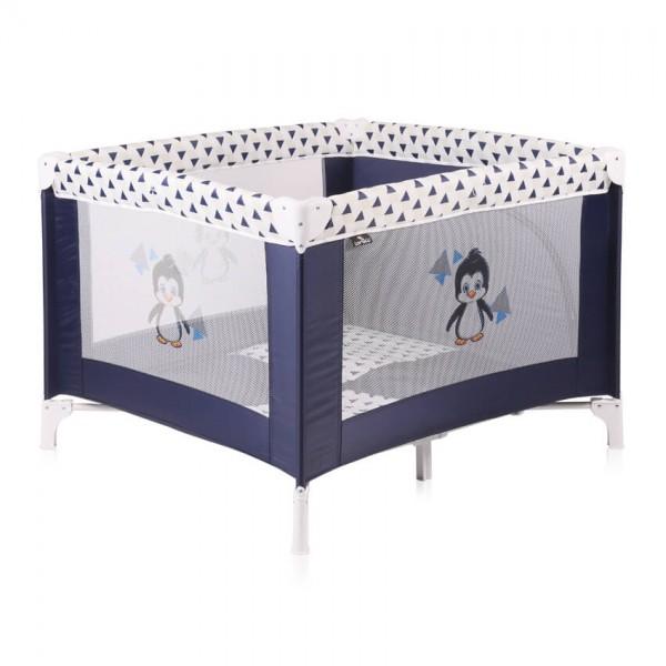 Бебешка кошара Play Station Blue&White Penguin