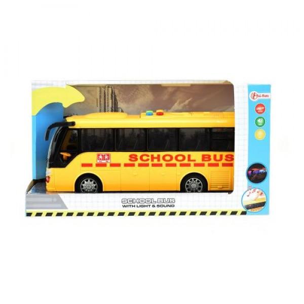 Училищен автобус с музика и светлина