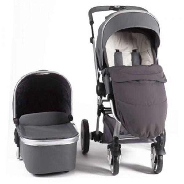 Бебешка количка Tender Grey