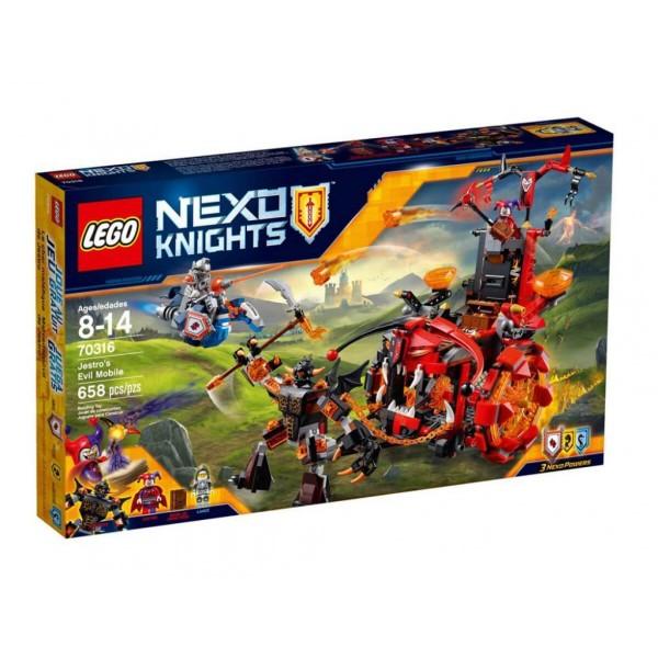 Лего Нексо Подвижната крепост на Jestro