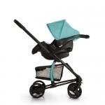 Комбинирана количка Miami 4S TrioSet Caviar/Petrol