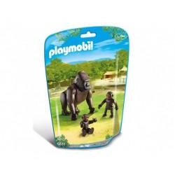 Плеймобил горила с малки