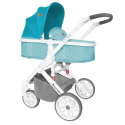 Бебешка количка Luna 2в1 Aquamarine