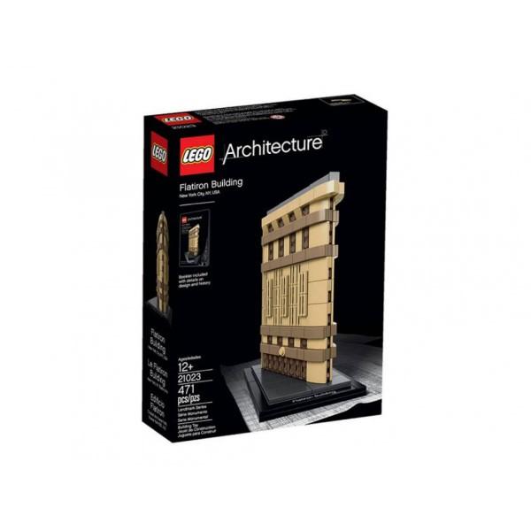 Лего Архитектура Флатайрън билдинг