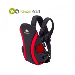 KinderKraft кенгуру за бебе червено