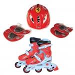 Ferrari Ролери, каска, протектори 28-31