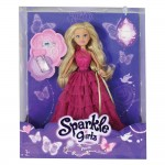 Sparkle Girlz Кукла Лукс с червена рокля