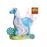 Сес отливки блестящи коне