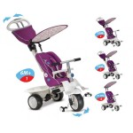 Smar Trike детска триколка 4 в 1 Recliner цикламена