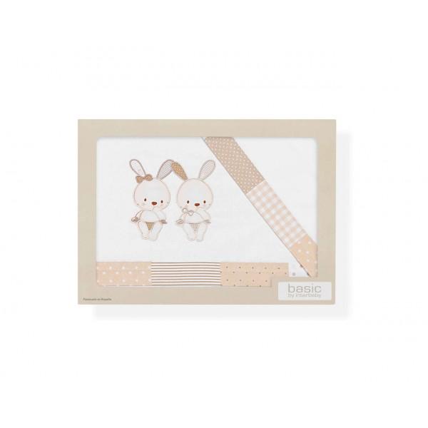 Спален комплект Two Little Rabbits за количка 3ч