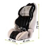 Столче за кола Smart UP черно