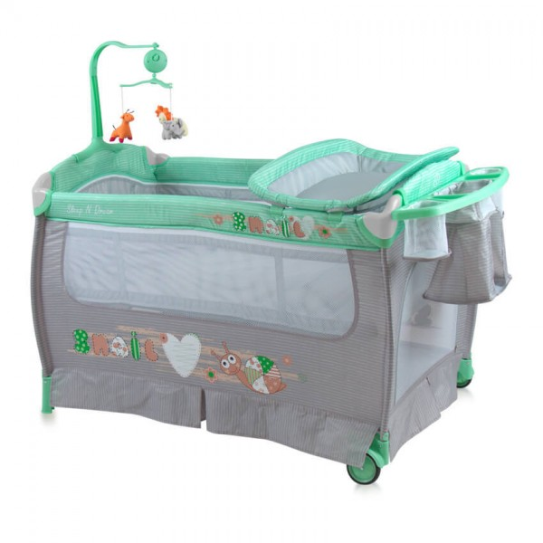 Кошара SLEEP 'N' DREAM Plus Green&Grey Snail