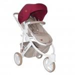 Бебешка количка Monza 3 Beige&Red