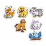Miniland Пластмасови пъзели животни
