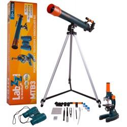 Levenhuk Комплект микроскоп, телескоп и бинокъл