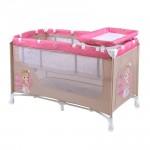 Кошара Nanny 2 нива Beige&Rose Princess