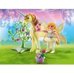 Плеймобил фея на цветята с еднорог слънчеви лъчи