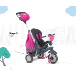 Smart Trike Детска триколка 5 в 1 Splash розова