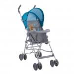 Бебешка количка Light Blue&Grey Hello Bear