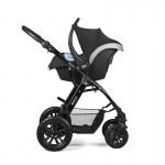 Бебешка количка Moov черна
