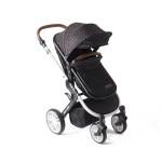 Kikkaboo Детска количка Dotty Black
