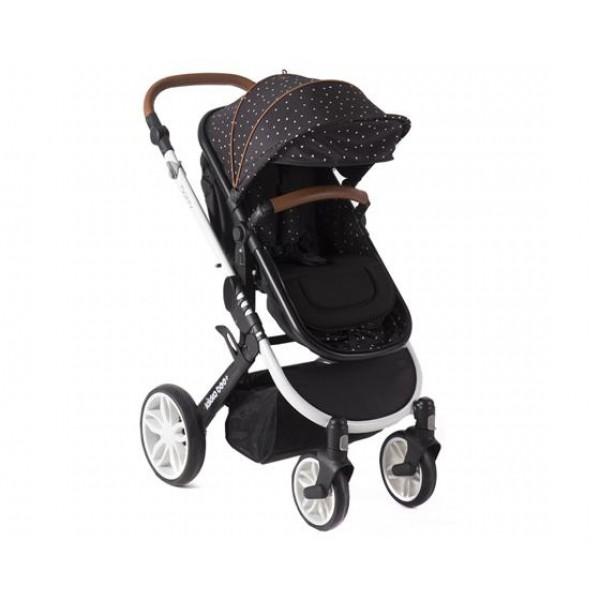 Детска количка Dotty Black