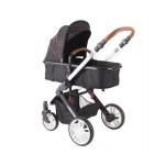 Kikkaboo Детска количка Dotty Brown