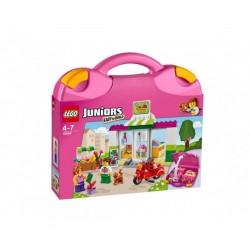 Лего Juniors Куфар със супермаркет