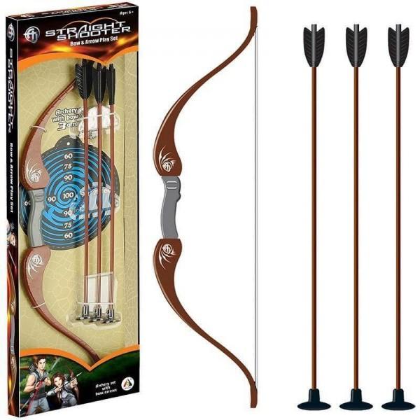 АО JIE Комплект лък със стрели и мишена