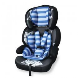 Стол за кола Junior Premium Black&Blue Stars