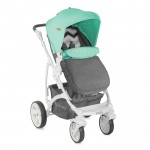 Комбинирана количка VISTA Grey&Green